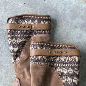 Muk Luks Shoes - MUK LUKS Kelsey Water Resistant Riding Boots Sz 7